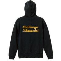 Challenge Records! プルオーバーパーカー 裏パイル
