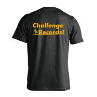 Challenge Records! 半袖プレミアムドライ陸上Tシャツ