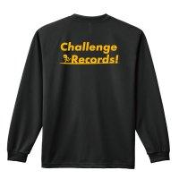 Challenge Records! 長袖ドライTシャツ