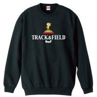 TRACK & FIELD トレーナー 裏パイル
