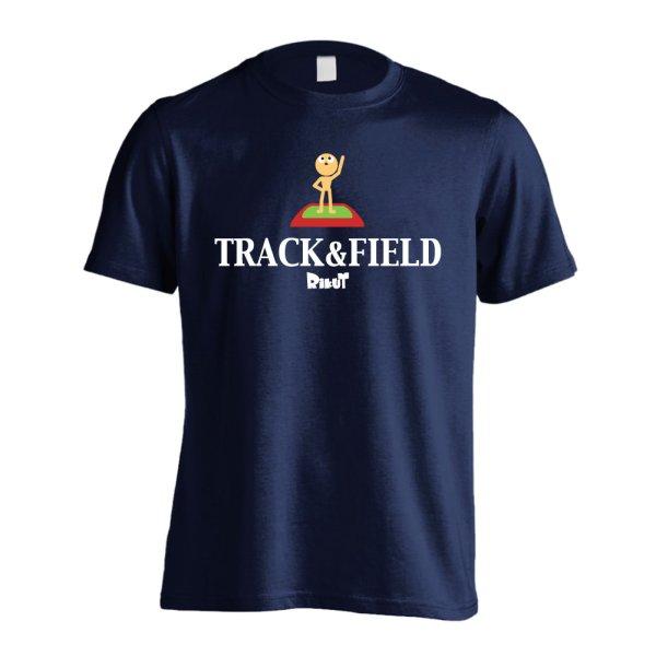 画像1: TRACK & FIELD 半袖プレミアムドライ陸上/ランニングTシャツ