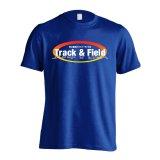 Track & Field 常に最高のパフォーマンスを 半袖プレミアムドライ陸上/ランニングTシャツ