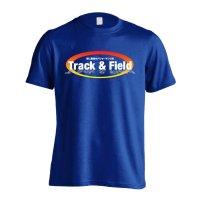 Track & Field 常に最高のパフォーマンスを 半袖プレミアムドライ陸上Tシャツ