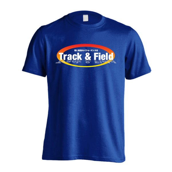 画像1: Track & Field 常に最高のパフォーマンスを 半袖プレミアムドライ陸上/ランニングTシャツ