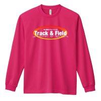 Track & Field 常に最高のパフォーマンスを 長袖ドライTシャツ