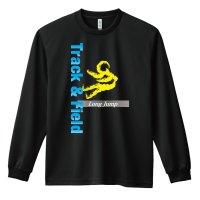 T&F Long Jump 長袖ドライTシャツ