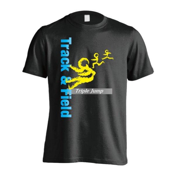 画像1: T&F Triple Jump 半袖プレミアムドライ陸上Tシャツ
