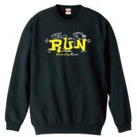 RUN Family Run トレーナー 裏パイル