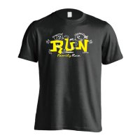 RUN Family Run 半袖プレミアムドライ陸上/ランニングTシャツ