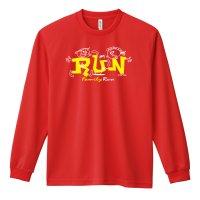 RUN Family Run 長袖ドライTシャツ