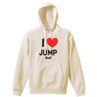 I LOVE JUMP プルオーバーパーカー 裏パイル