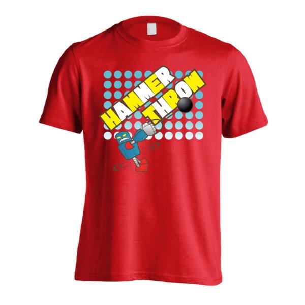 画像1: HAMMAR THROW Riku-ROBO 半袖プレミアムドライ陸上/ランニングTシャツ