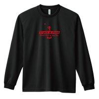 Shot Put is my life 長袖ドライTシャツ