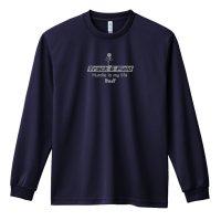 Hurdle is my life 長袖ドライTシャツ