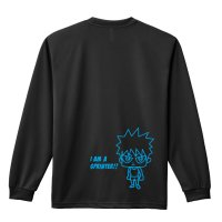 I AM A SPRINTER! リクティAC ハヤト 長袖ドライ陸上/ランニングTシャツ