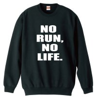 NO RUN, NO LIFE. 陸上トレーナー 裏パイル