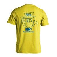 顔マラソン 半袖プレミアムドライ陸上/ランニングTシャツ