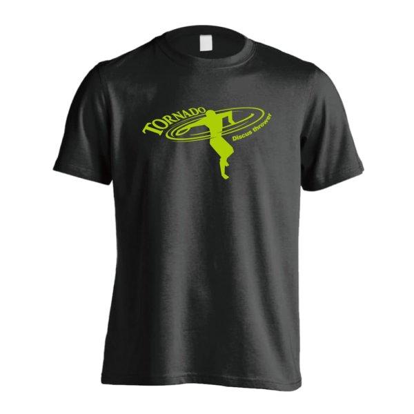 画像1: 円盤投げ トルネード投法 半袖プレミアムドライ陸上Tシャツ