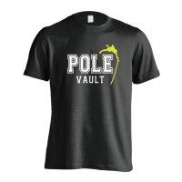 POLE VAULT 半袖プレミアムドライ陸上/ランニングTシャツ