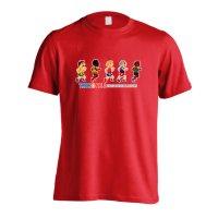 8-bit風 陸上ゲーム ラン編 半袖プレミアムドライ陸上/ランニングTシャツ