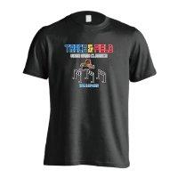 8-bit風 陸上ゲーム ハードル編 半袖プレミアムドライ陸上/ランニングTシャツ