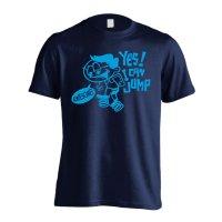 YES! I CAN JUMP 半袖プレミアムドライ陸上/ランニングTシャツ