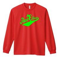 ベースボールシャツ風 Track & Field 長袖ドライ陸上/ランニングTシャツ