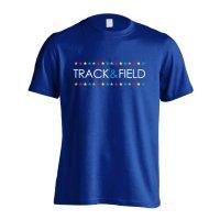 カラフルスターライン TRACK & FIELD 半袖プレミアムドライ陸上/ランニングTシャツ